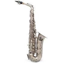 Saxofone Milano Alto Prata Fosco Mi Bemol Eb . Loja . Gtia !