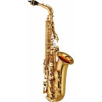 Saxofone Alto Yamaha Yas 280 Id Eb - Nf E Garantia
