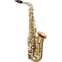 Ritmus Eagle Eps10 Saxofone Alto Profissional Corpo Bronze