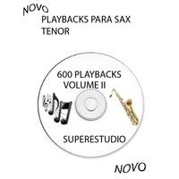 Playbacks Para Sax Tenor Trompete Clarinete Partituras