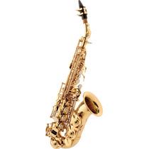 Sax Soprano Eagle Sp508 Curvo Em Sib Laqueado 2957