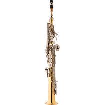 Sax Soprano Eagle Sp502ln Laqueado C/ Chaves Niqueladas 3433