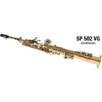Saxofone Soprano Bb Reto Eagle Envelhecido