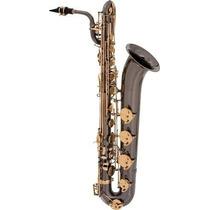 Ritmus ! Eagle Sb506bg :saxofone Baritono Em Mib Preto Onyx