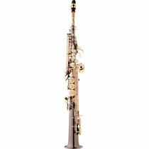 Saxofone Soprano Bb Sp502-bg Preto Onix Eagle