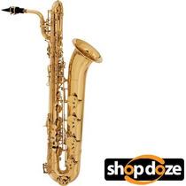 Saxofone Eagle Barítono Sb506 Em Eb Com Case Laqueado