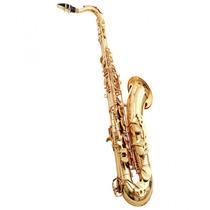 Saxofone Waldman Tenor Em Si Bemol Laqueado Gold Wst Gd
