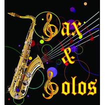 Playbacks, Partituras P/ Saxofone E Outros