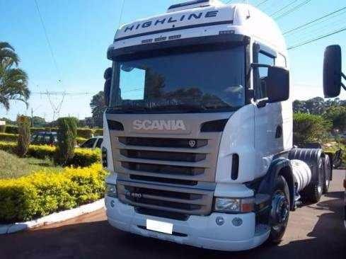 Scania R420 Highline 6x2 2012 Entrada R$ 35.000,00 + Parcela