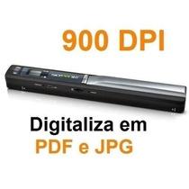 Scanner Portátil De Mão Skypix Tsn410 900dpi Usb Micro Sd