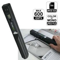 Scanner Portátil D Mão Sem Fio Super 600dpi Usb Sd 8g Brinde