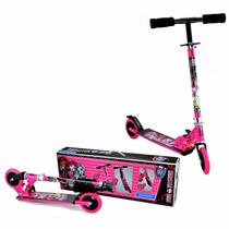 Patinete Monster High De Alumínio Menina Infantil Astro Toys