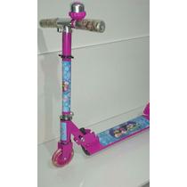 Patinete Frozen 3 Rodas Brinquedo