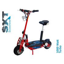 Scooter Elétrico 1000w 36v Sxt Eppower Patinete - Vermelha