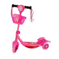 Patinete-scooter Com Som E Luz Brinquedo Infantil Feminino