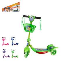 Patinete Infantil Aluminio 3 Rodas Triciclo Scooter Verde