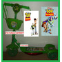 Patinet Infantil Toy Story 3 Rodas Disney Scooters Luz/music
