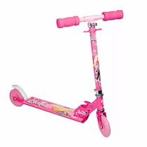 Patinete Infantil Barbie Alumínio Fashion Astro Toys 8931