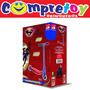 Patinete Superman Bandeirante; Scooter; Masculino; Infantil