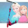 Patinete Frozen Infantil De 2 Rodas!