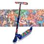 Patinete Marvel Brinquedo Infantil 2 Rodas Gel Freio Max B2