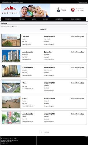 Script Para Imobilaria Em Php. Integrado Com Google Maps.