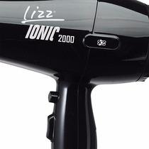 Secador De Cabelo Lizz Ionic Preto - 1800w/2000w