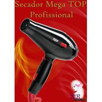Secador Mega Profissional Top Preto - 110v 2100 Watts