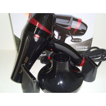 Secador Cabelo Profissional, Stylus-pro,ion 3000w + Difusor