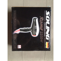 Secador De Cabelo Roma 2200w Soling Profissional 220v