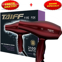 Secador Taiff Fire Fox Profissional 2100w 127v