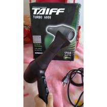 Secador Taiff Profissional Turbo 6000 1700 Watts 220v
