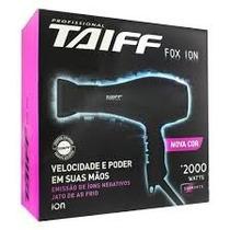 Taiff Fox Íon Preto Secador Profissional 2000w - 110v