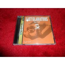 Last Gladiators Ver. 9.7 Japonês Sega Saturn Rarissimo