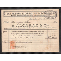 Cobrança Alcaraz&cia-estaleiro E Oficina Mecanica-portoalegr
