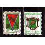 Costa .do Marfim 1969 * Brazões * Bouake * Ivory