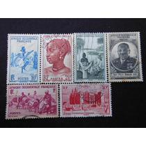 2281 - Lote 06 Sêlos Da Africa Ocidental Francesa Variados