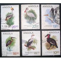 Fil 9045 Angola Aves Fauna Série Completa Nº 689a/f