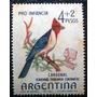 9541 Argentina Fauna Pássaro Yvert Nº 699 N