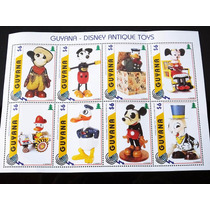 Selos Guyana Disney Antique Toys Mickey Minnie Pato Donald