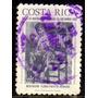 Col 06001 Costa Rica Aéreo 328 Natal De 1976 U