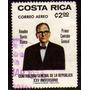 Col 05983 Costa Rica Aéreo 667 Controle Da República U