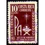 Col 05856 Costa Rica 306 Natal De 1971 U