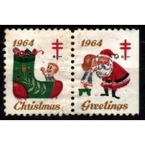 Usa 1964 * Colaboração * Natal * Criança * Bota* Papai Noel