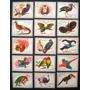 6320 Fujeira - Aves Exóticas Série Completa De 1972 (15 Selo