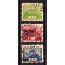 Japão 1926-37 * Monte Fuji * Portal Yomei * Palácio Nagoya
