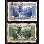 Líbano 1937 * Paisagem Dog River * 2 Valores * Difícil