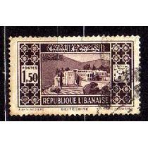 Líbano 1930 * Palácio Beit-ed Din * 1p50 .lilás