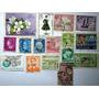 Selos Sortidos Do Mundo Todo Coleção De 16 Selos