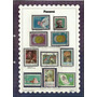 260 Sls- Selos De Todo Mundo- Américas- Panamá- 1966-67-68